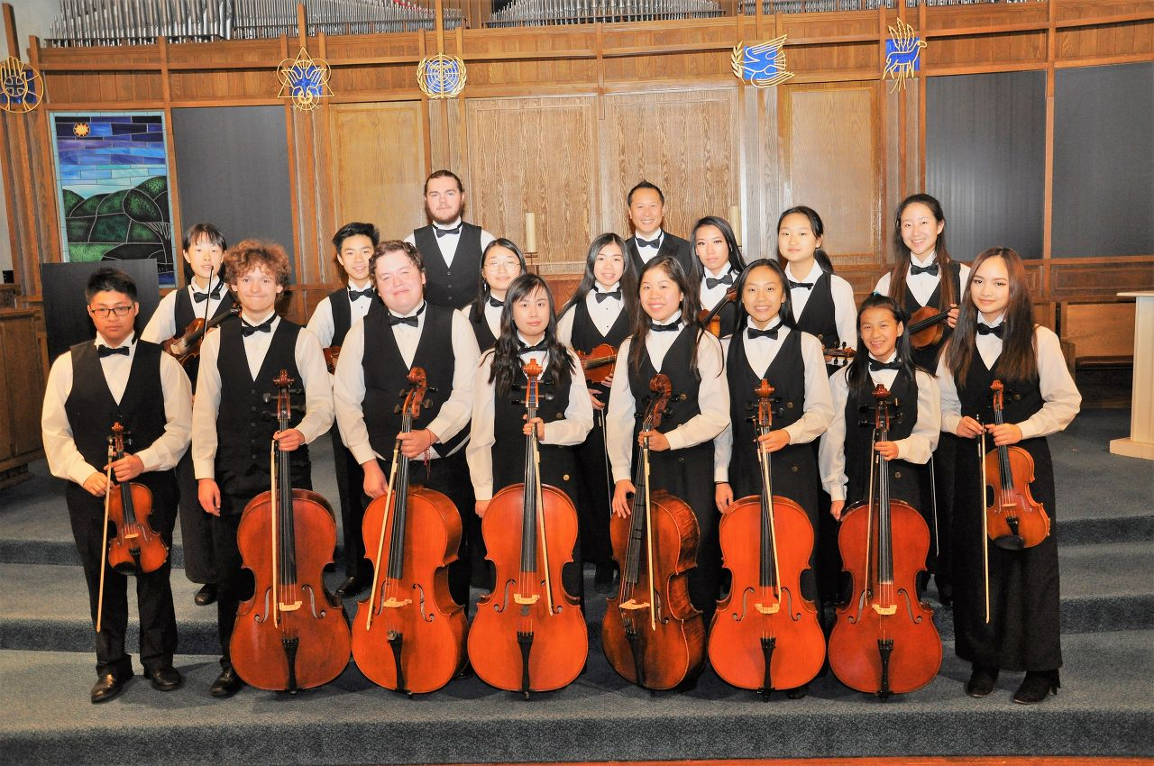 Magee Chamber Choir, String Orchestra & Wind Ensemble (Canada)