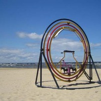 Stargate on Jurmala Beach