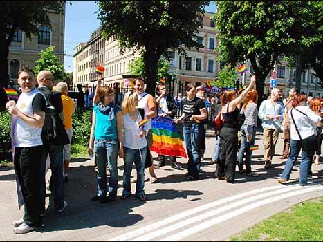 Living as a gay man in Riga? latvia