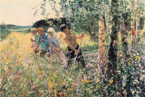 Russian Art In The Context Of World Art Process