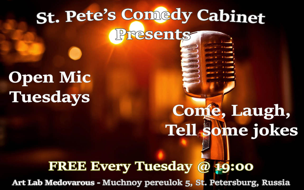 Free Stand Up Comedy Open Mic