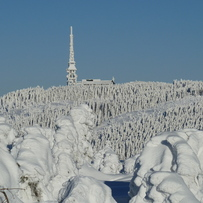 Winter on the Male Skrzyczne mountain