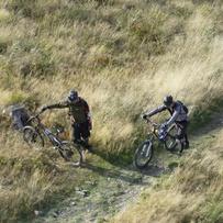 downhill ride Skrzyczne