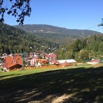 Paragliders in Szczyrk