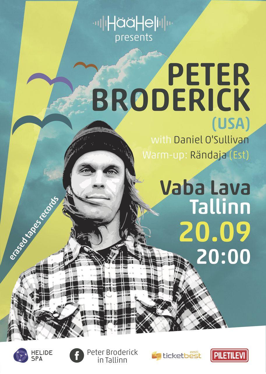 Peter Broderick (USA) in Tallinn