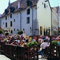 Street Restaurant in Old Town