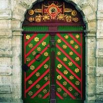 Door of the House of the Brotherhood of Black Heads