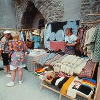 Souvenir market in Old Town
