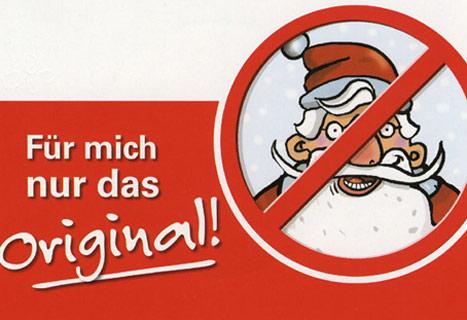 Santa Claus Given The Boot