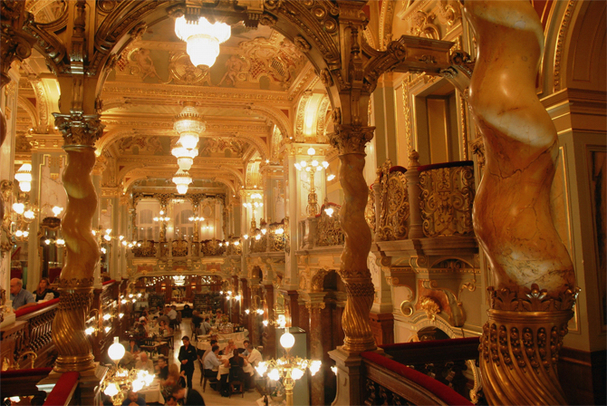 Cafe Central Vienna Austria Local Life