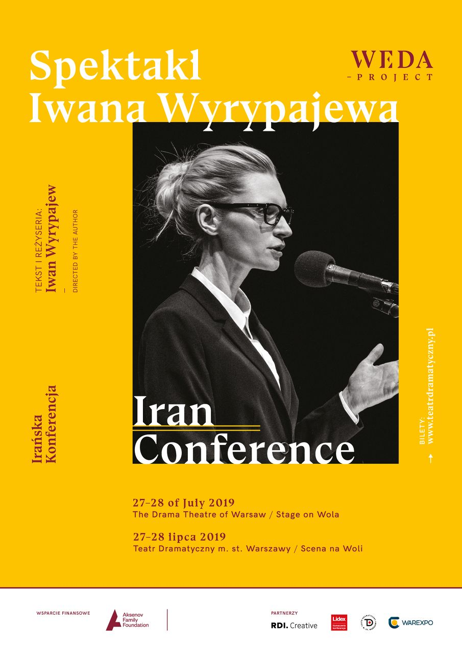 Iran Conference by Iwan Wyrypajew