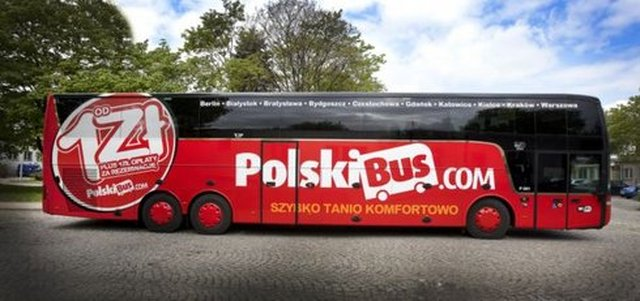 Coaches and Buses from Warsaw