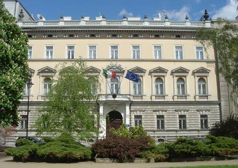 Warsaw Embassies - The Men in Suits...