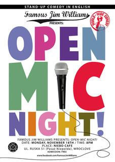 World-Wide Comedy Open-Mic Night!