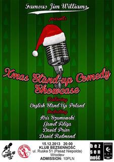 X-Mas Stand-Up Comedy Showcase