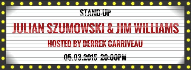 Stand-Up Comedy in English - Julian Szumowski & Jim Williams