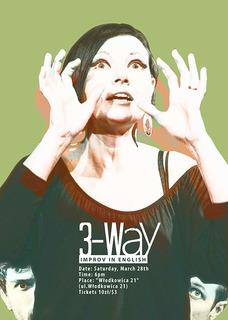 3-Way Improv in English