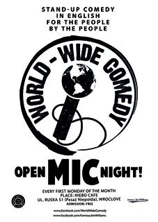 World-Wide Comedy Open-Mic Night