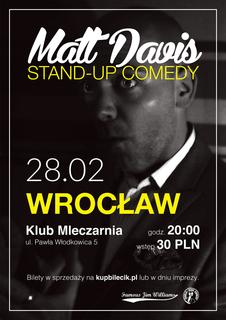 Stand up Special: Matt Davis (USA)