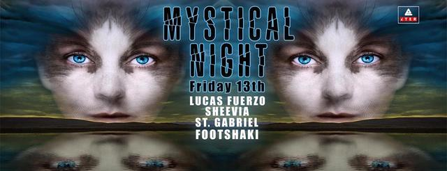 Mystical Night   Friday 13th   22:00   Eter Club