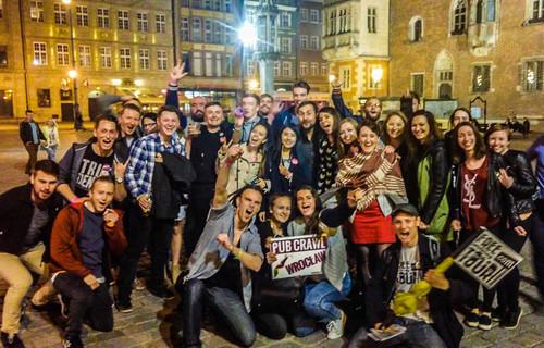 Friday Crazyness with Pub Crawl Wroclaw