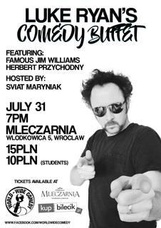 World-Wide Comedy Presents: Luke Ryan's Comedy Buffet
