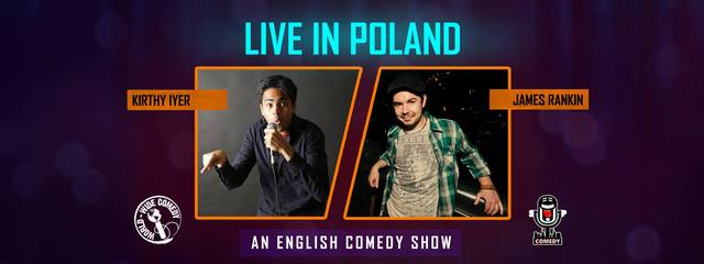 Live In Poland: An English Comedy Show