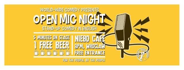 World-Wide Comedy Open Mic Night