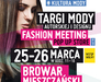 FASHION MEETING POP UP STORE vol. 15 Targi mody autorskiej i designu