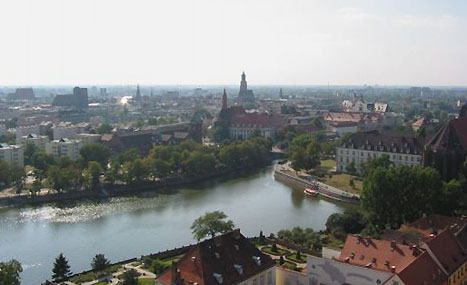 Odra - the life and soul of Wroclaw!