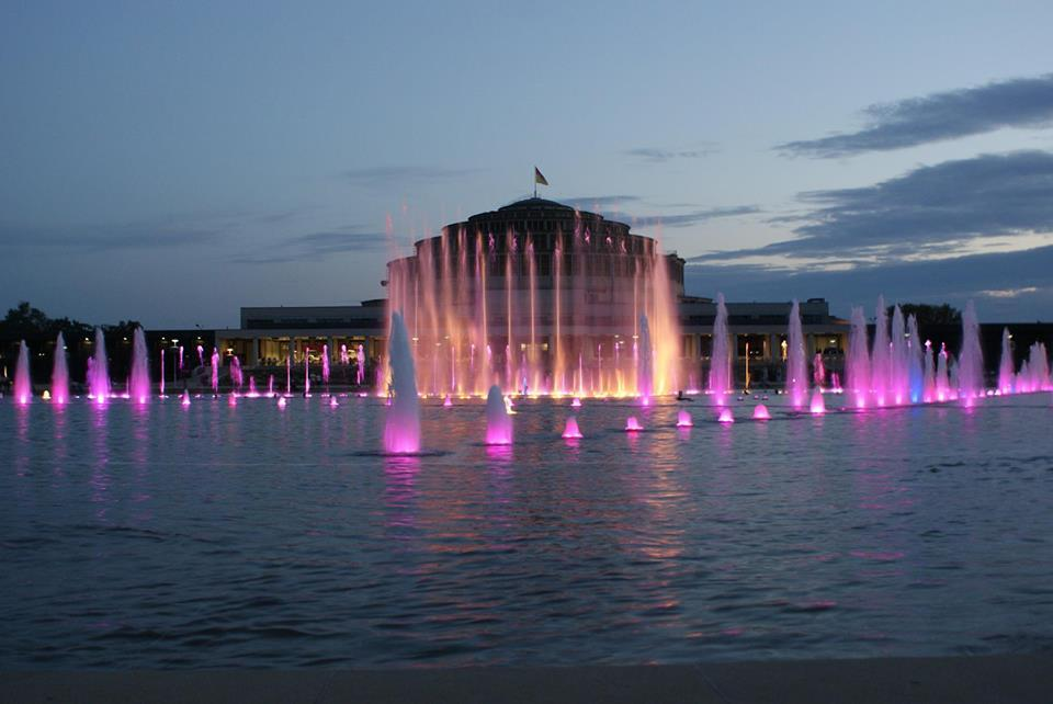 Wroclaw's Multimedia Fountain
