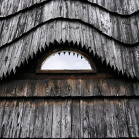 Wooden roof in Zakopane