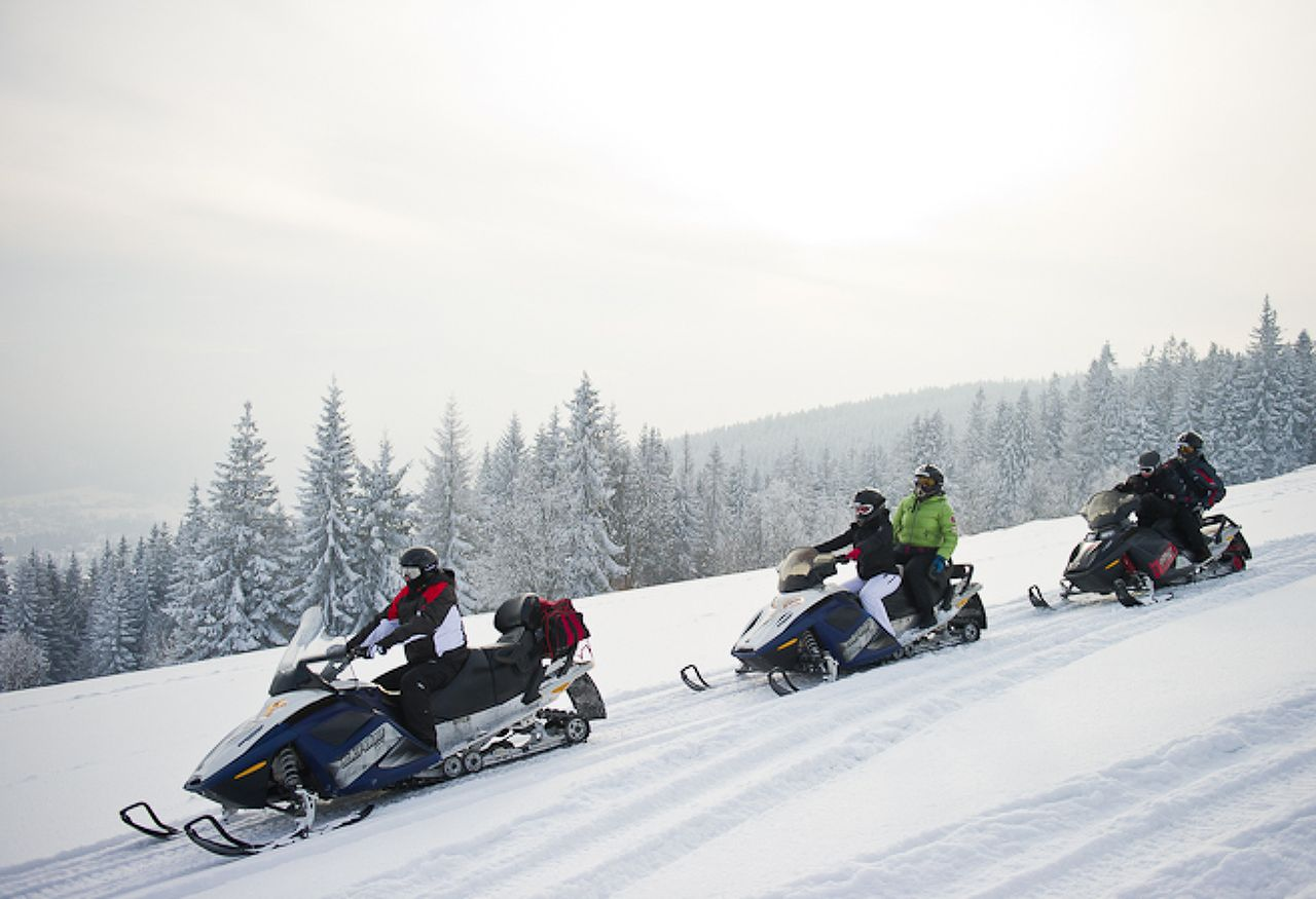 Photo 1 of Snowmobiling