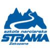 Ski & Snowboard School STRAMA logo