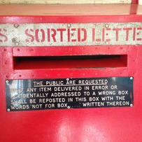 Mis-sorted letter box, Bulawayo